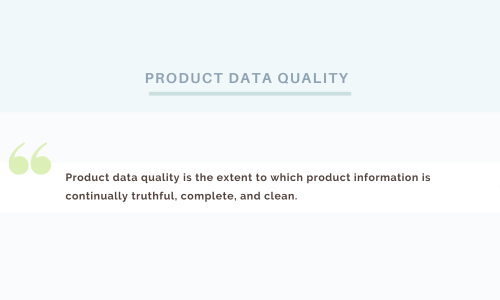 pim data quality issues