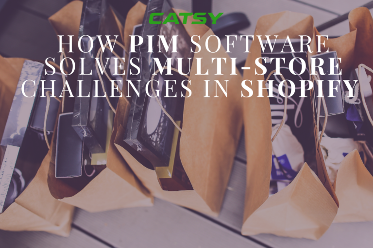 How PIM Software Solves Multi-Store Challenges in Shopify
