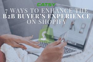 b2b buyer experience shopify pim